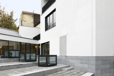 CEI-DeMeyer: Kantoorgfebouw Floreal-Germinal, Watteeuwstraat 2-8, 1000 Brussel