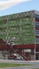 Parkeertoren in Bloemekeswijk krijgt vorm – AVS  22/03/2021